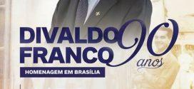 Homenagem a Divaldo Franco